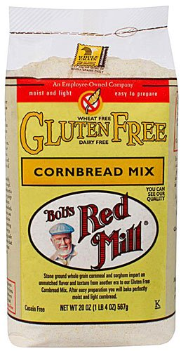 Bob's Red Mill Gluten Free Cornbread Mix -- 20 oz (Pack of 12) by Bob's Red Mill