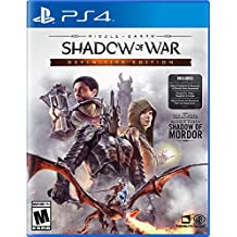 Middle Earth: Shadow Of War - Definitive Edition PlayStation 4