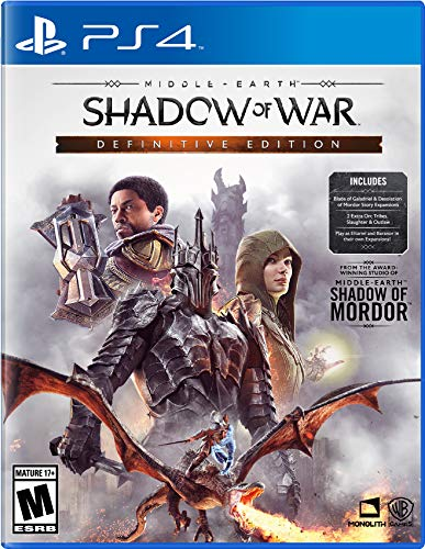 PS4 Middle Earth Shadow of War - Definitive Edition