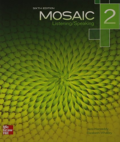 Mosaic Level 2 Listening/Speaking Student Book plus Registration Code for Connect ESL