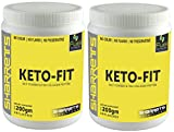 SHARRETS KETO FIT 2X200g [ Blend of Fish Collagen Peptide and Medium Chain Tryglycerides]