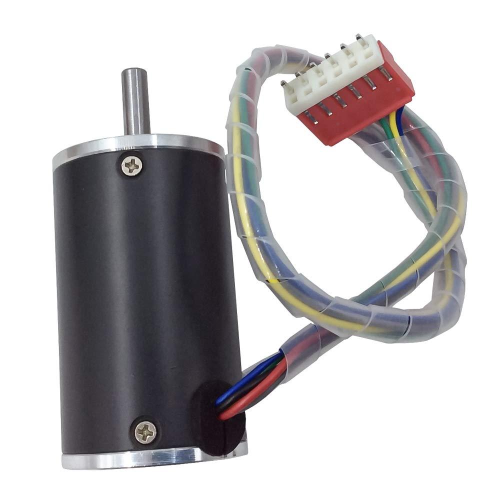 DC Brushless Fan Motor 12 V 24 V 2000 RPM/3000 RPM/4000 RPM/5000 rpm Motor pequeño opcional con accionamiento incorporado para DIY Replace, 12V, 2000 RPM, 0: Amazon.es: Industria, empresas y ciencia