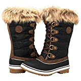 Best Womens Snow Boots - GLOBALWIN Women's 1837 Winter Snow Boots (8.5 (M) Review