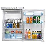 Appliances : SMETA Propane Refrigerator Freezer 110V/12V/Gas RV Boat Apartment Fridge,White,3.5 cu ft