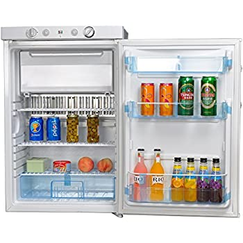 Amazon.com: SMETA Propane Refrigerator Freezer 110V/12V/Gas RV Boat ...