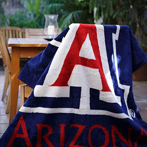 Officially Licensed NCAA UCLA Bruins Denali Silver Knit Throw Blanket Multi Color 60 x 72