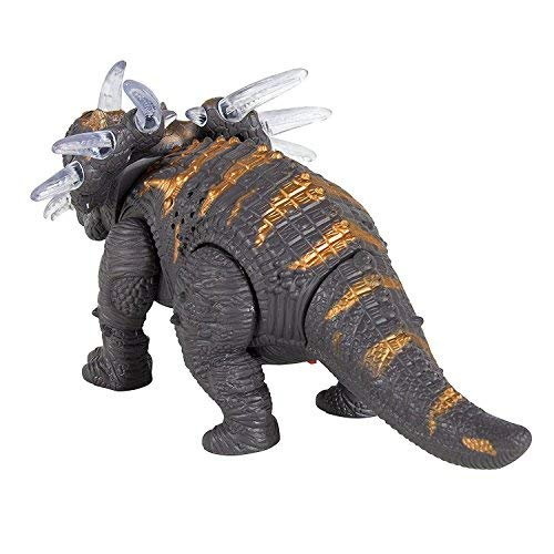 FanBell Walking Triceratops Dinosaur Toy Figure with Multicolor Lights & Loud Roar Sounds for for Boys and Girls Over 3 Years Old,Real Movement by FanBell (Image #4)