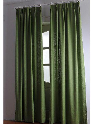 CLL/(dos paneles) toallas/algodón Panel fijo (verde)
