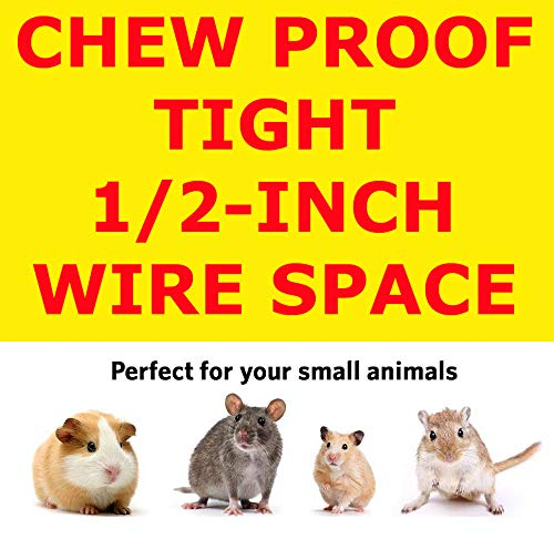 New Medium 3 Levels Ferret Chinchilla Sugar Glider Cage 24'' Length x 16'' Depth x 24'' Height by Mcage (Image #3)