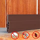 Sound Proof Door Strip - Under Door Sweep Weather Stripping Seal Draft Stopper Sound Proof and Block Cold Hot Air 1.6'' Width x 39'' Length