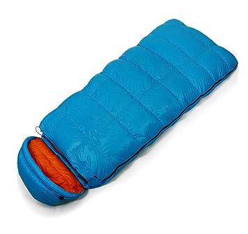 Por sacos de dormir/extendido/al aire libre/camping , blue , 220*85cm: Amazon.es: Deportes y aire libre