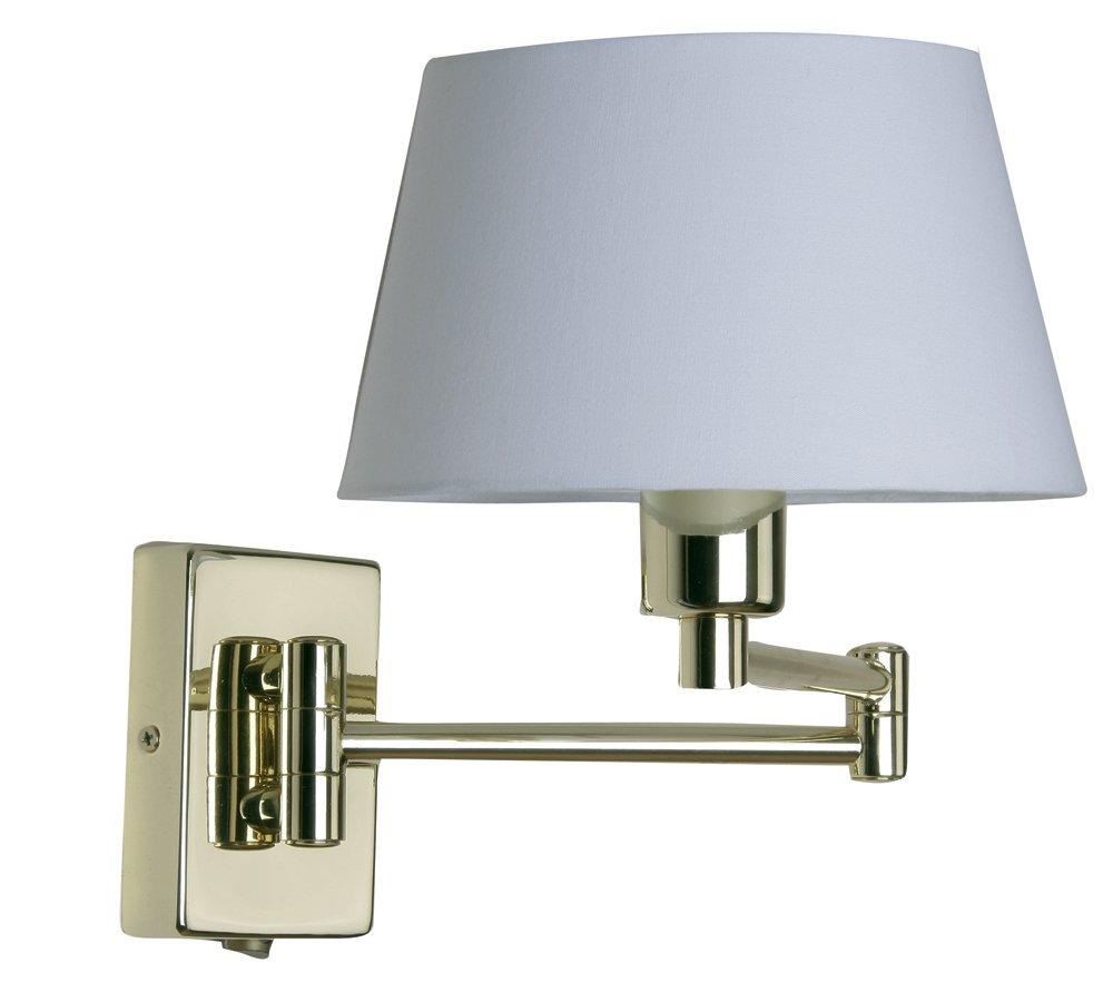 lámpara de pared con brazo articulado