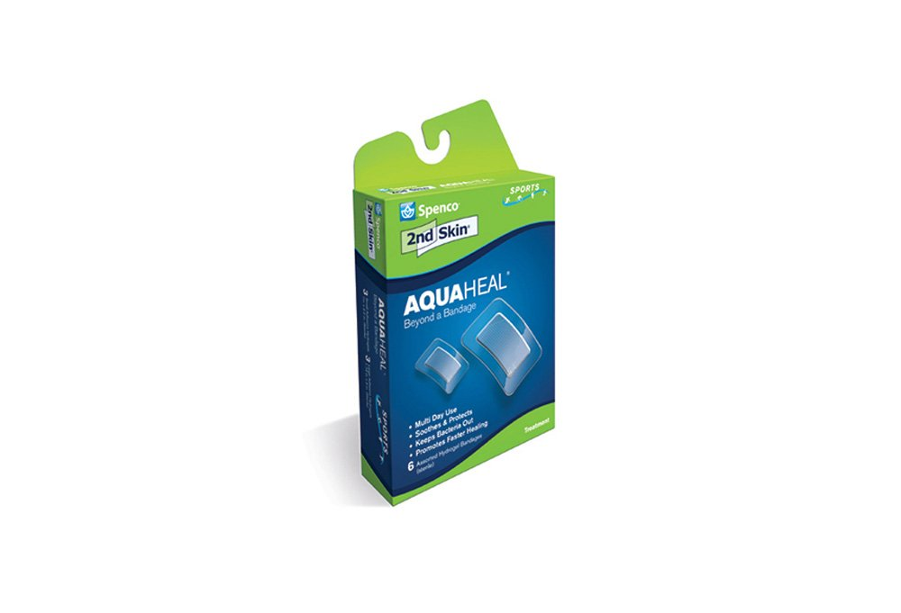 Spenco 2nd Skin Aquaheal Hydrogel Bandages, Medical Large Size 24-Count