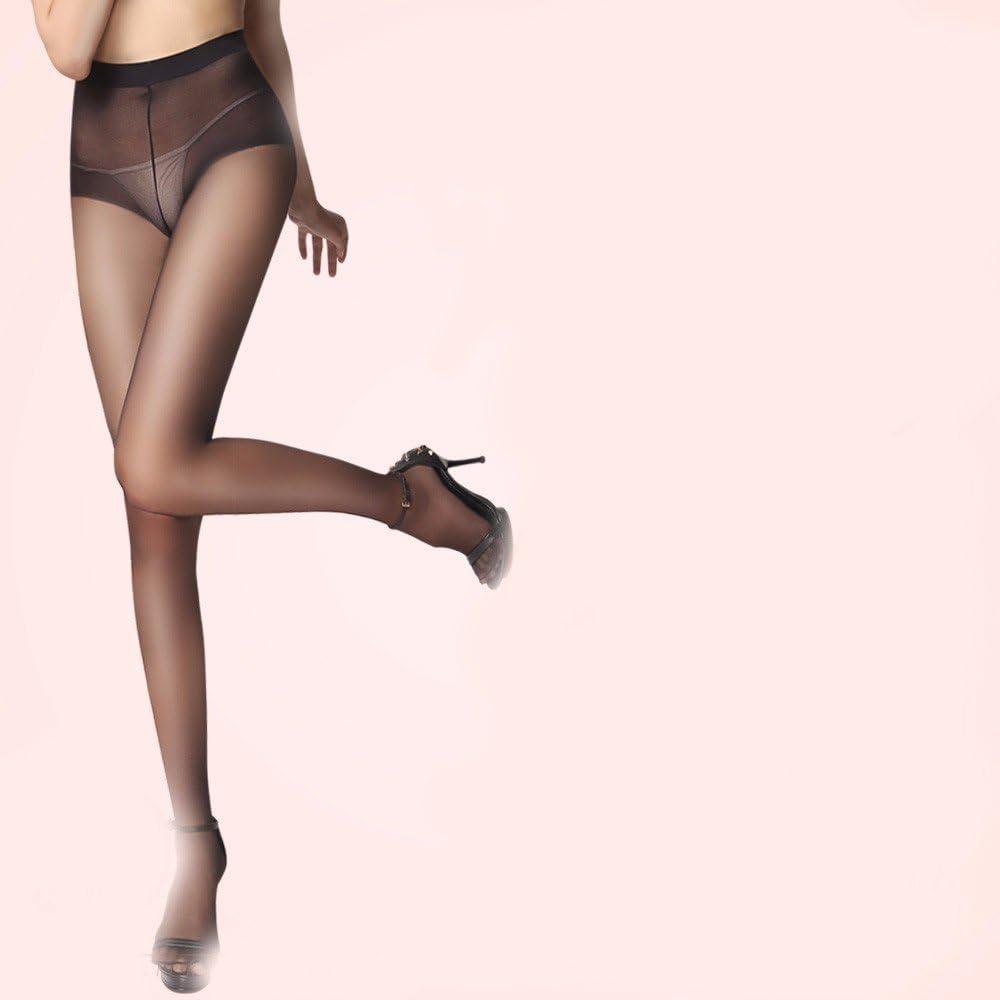 BEEST-Calcetines de seda, medias anti-retención de color carne de primavera y verano negro mujeres mayores sexy video muy delgado medias de seda gris hembra,s.T: Amazon.es: Hogar