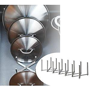 New Ikea Variera Pot Lid Organizer Stainless Steel Multi-use Adjustable length(1)