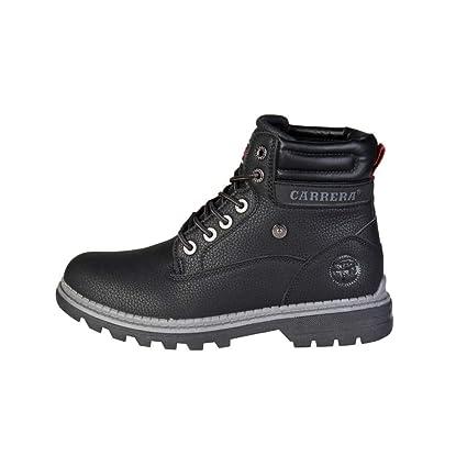 Carrera Jeans Hombre TENNESSE_CAM721002 Negro Botines Altos 43 EU