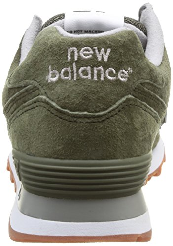 new balance 574 verde uomo