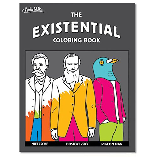 The Existential Coloring Book Accoutrements 12516