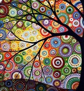 Tree of Life Gorgeous Like Leather Bath Shower Curtain