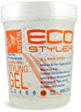 Ecoco Eco Styler Krystal Styling Gel, 32 Ounce (Pack of 2)