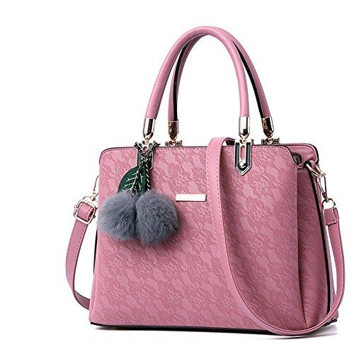 G-AVERIL - Bolso mochila  para mujer azul marino rosa
