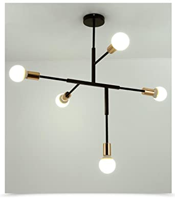 de Irregular de Lámpara LED Luz Techo Araña Colgante Diseño 5A4R3jLq