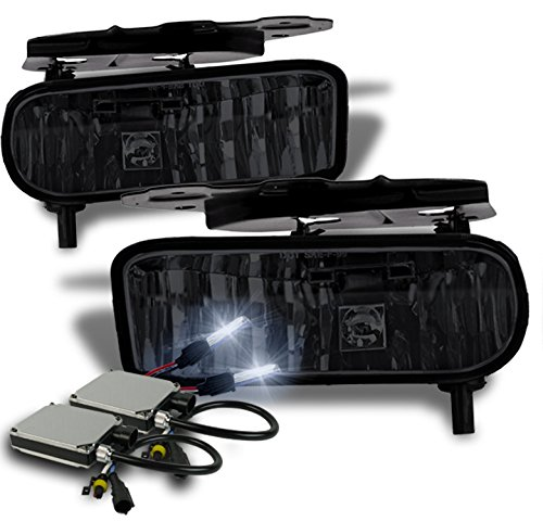 2002-2006 Cadillac Escalade OEM Style Replacement Fog Lights with 8000K HID Conversion Kit - (Cadillac Escalade Conversion)