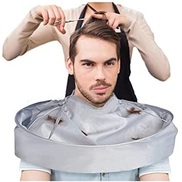 Hair Cutting Cape Umbrella Cape Salon Barber for Adult Barber Salon and  Home Stylists Use Hairdressing Kit
