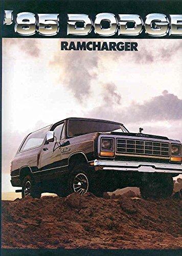 Dodge Ramcharger Truck (1985 Dodge Ramcharger Truck Brochure)