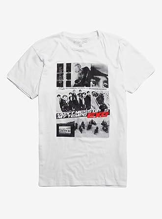 c05edc40 EXO Don't Mess Up My Tempo T-Shirt White | Amazon.com