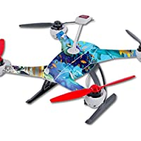 Skin For Blade 350 QX3 Drone – Ocean Friends | MightySkins Protective, Durable, and Unique Vinyl Decal wrap cover | Easy To Apply, Remove, and Change Styles | Made in the USA