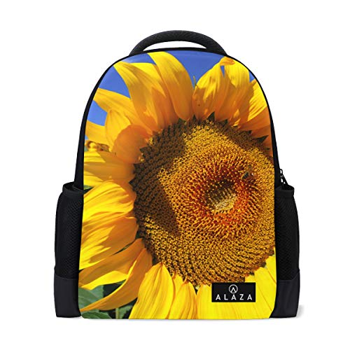 (Backpack Sun Flower in The Womens Laptop Backpacks School Hiking Travel Daypack)