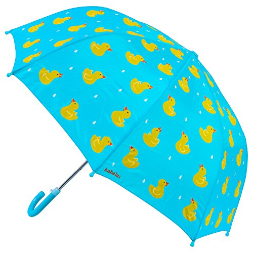 Babalu Adorable Children's Umbrella Playset, Blue/Yellow, 23