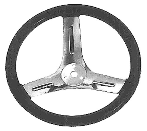 Maxpower 9396 12-Inch Steering Wheel for (Lawn Mower Go Kart)