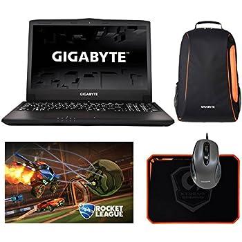 "Gigabyte P55Wv7-KL3 (i7-7700HQ, 16GB RAM, 256GB SATA SSD + 1TB HDD, NVIDIA GTX 1060 6GB, 15.6"" IPS Full HD, Windows 10) VR Ready Gaming Notebook"