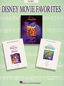 Disney Movie Favorites Instrumental Solo Trumpet. Partituras para Trompeta