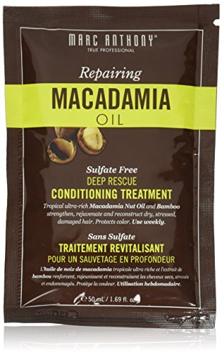 Anthony Shaft - Marc Anthony Repairing Macadamia Oil Deep Healing Conditioning Treatment Packet x 2