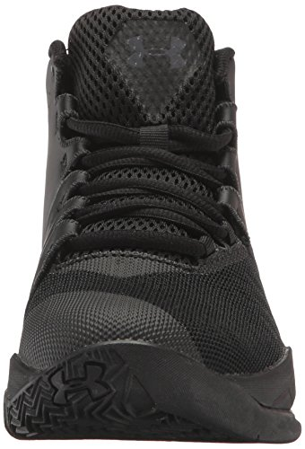 Under Longshot School Black M US Shoes Basketball Rhino Gray Boys' Grade Kid 7 Armour Big InAqwHtnrB