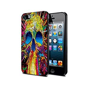 Case Cover Silicone Iphone 4 4s Skull Ghosts Sk08 Halloween Protection Design