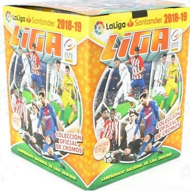 LIGA ESTE ¡ 5ª edición! 1 Caja con 50 Sobres, 2018 / 2019 de Panini ¡Los últimos cromos!: Amazon.es: Juguetes y juegos