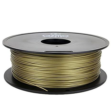 Gizmo Dorks - Juego de 3 mm, bronce metálico, de filamento 1 kg ...