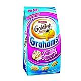 Pack Of 4 Pepperidge Farm Goldfish Grahams, Vanilla Cupcake, 180g Goldfish Party Combo Pack By Thirsty Jini