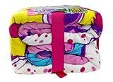 Hatchimals Plush Blanket Girls Bedding Twin Size
