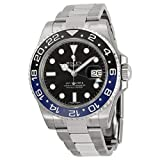 Rolex GMT Master II Black Dial Stainless Steel Mens Watch 116710 BLNR