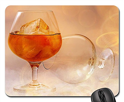 Mouse Pads - Brandy Alcohol Smoke Fire Lighting