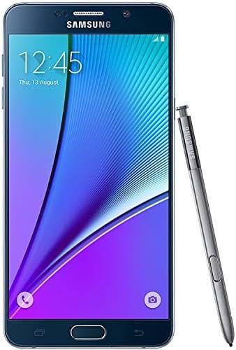Samsung Galaxy Note 5 32GB GSM Unlocked - Black (Renewed) (D132)
