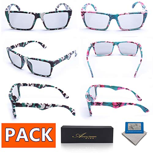 RealD 4Pack AoHeng 3D Glasses for Movies//Theater//Cinema//Passive 3D TV