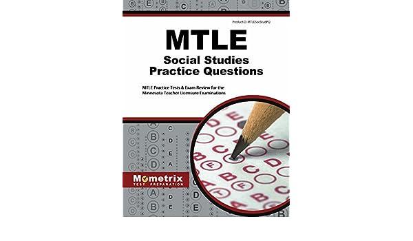 mtle social studies practice questions mtle practice tests exam rh amazon com Graduation Test Study Guide 6th Grade Social Studies Study Guides