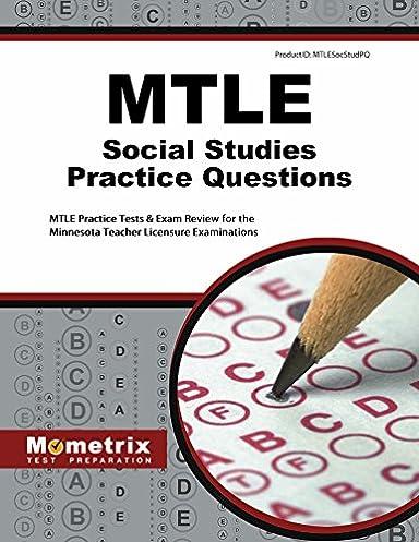 mtle social studies practice questions mtle practice tests exam rh amazon com Social Studies Study Guide PDF Social Studies Study Guide Answers