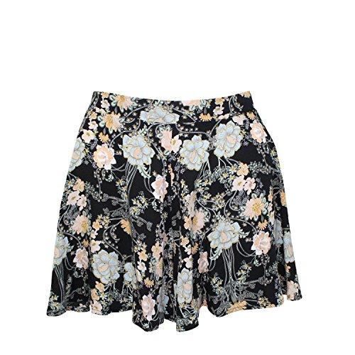 Tala by Rio Ritz Womens Oceana Floral Shorts Black Small